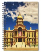 Wyoming State Capitol - Cheyenne Spiral Notebook