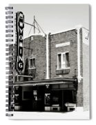 Wyoming Theater 2 Spiral Notebook