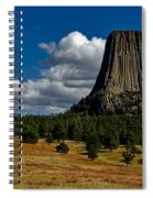 Wyoming's Devil's Tower Spiral Notebook
