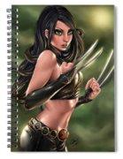X-23 Razors Edge Spiral Notebook