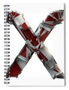 X Is For X-ray Spiral Notebook