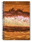 X-ray Of A Wave Spiral Notebook
