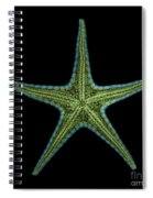 X-ray Of Starfish Spiral Notebook