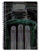 Hot Rod 3 Spiral Notebook