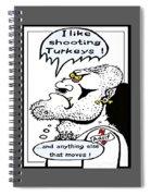 Xenophobe Spiral Notebook