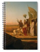 Xerxes At The Hellespont Spiral Notebook