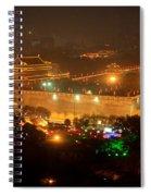 Xian City Lights Spiral Notebook