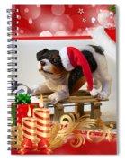Xmas Dog Spiral Notebook