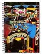 Xochimilco Spiral Notebook