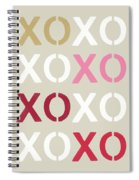 Xoxo- Art By Linda Woods Spiral Notebook