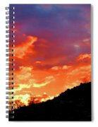 Y Cactus Sunset 6 Spiral Notebook