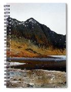 Y Lliwedd Ridge From Lake Llyn Llydaw Spiral Notebook