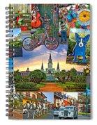 Ya Gotta Love New Orleans 2 Spiral Notebook