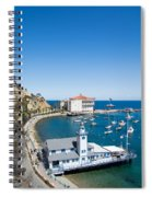 Yacht Club And The Casino Spiral Notebook