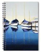 Yacht Harbor Spiral Notebook