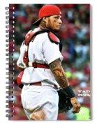 Yadier Molina, St. Louis Cardinals Spiral Notebook