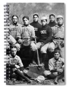 Yale Baseball Team, 1901 Spiral Notebook
