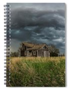 Yale Supercell Pano  Spiral Notebook