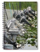 Yamaha Outboards Spiral Notebook