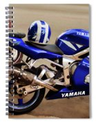 Yamaha Yzf-r6 Motorcycle Spiral Notebook