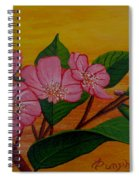 Yamazakura Or Cherry Blossom Spiral Notebook