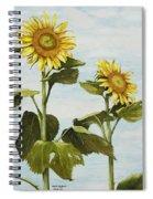 Yana's Sunflowers Spiral Notebook
