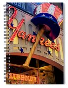 Yankee Clubhouse Spiral Notebook
