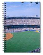 Yankee Stadium Ny Yankees V. Tampa Spiral Notebook