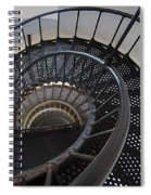 Yaquina Lighthouse Stairway Nautilus - Oregon State Coast Spiral Notebook