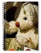Yard Sale Bunny Spiral Notebook