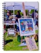 Yard Sale Day Spiral Notebook