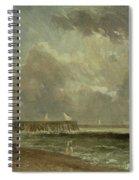 Yarmouth Pier Spiral Notebook