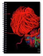 Yarn Leftovers Spiral Notebook