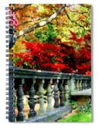 Ye Olde Garden Bench Spiral Notebook