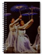 Year Of The Dog Umbrella Dance Spiral Notebook