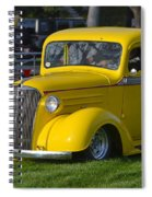 Yellow 30's Chevy Pickup Spiral Notebook