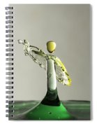 Yellow And Green 1 Spiral Notebook