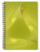 Yellow Anyone Spiral Notebook