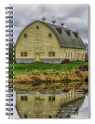 Yellow Barn Spiral Notebook