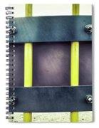 Yellow Bars Close Up  Spiral Notebook