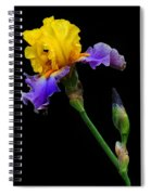 Yellow Beauty Spiral Notebook