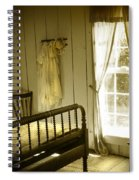 Yellow Bedroom Light Spiral Notebook