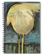 Yellow Bird In Field Spiral Notebook