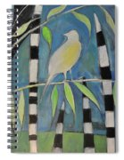Yellow Bird Up High... Spiral Notebook