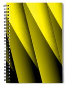 Yellow Borders Spiral Notebook