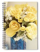 Yellow Bouquet Of Flowers Spiral Notebook