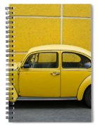 Yellow Bug Spiral Notebook