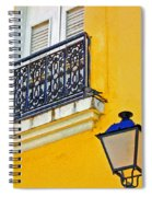 Yellow Building Spiral Notebook