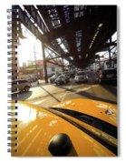 Yellow Cab Spiral Notebook