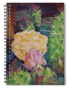 Yellow Cactus Flower Spiral Notebook